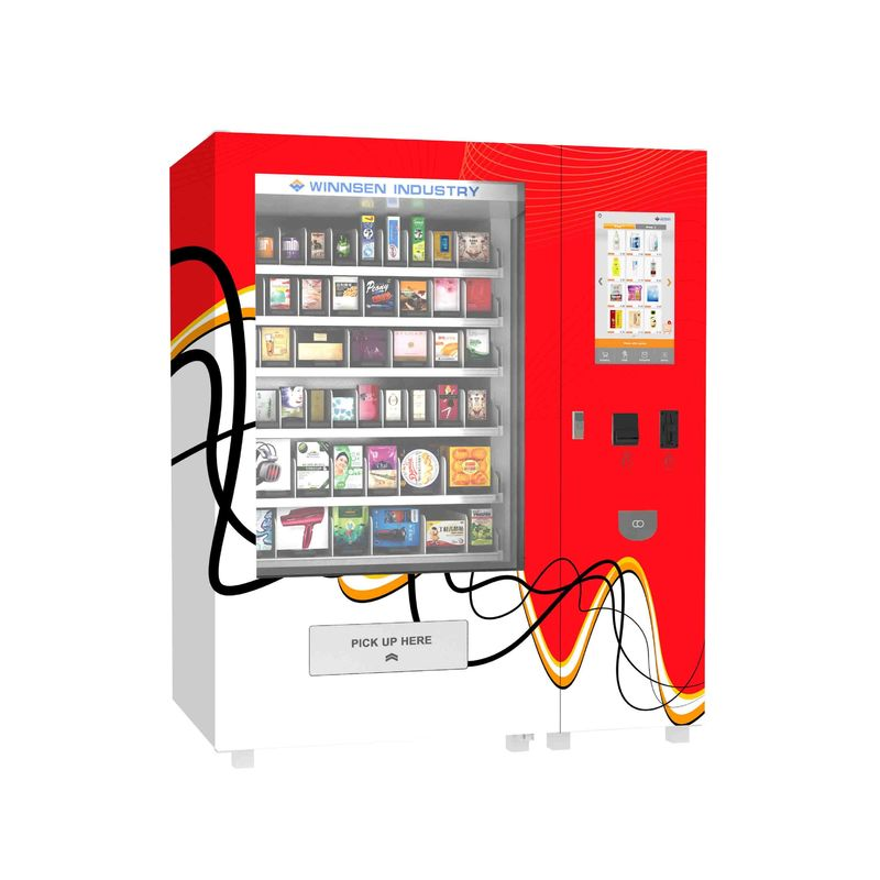 Convenient Remote Control System Pharmacy Vending Machine With Income Report Function