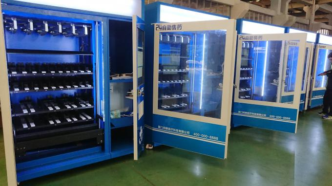 CE FCC Winnsen Wine Vending Machine For Shopping Mall With Credit Card Reader Payment